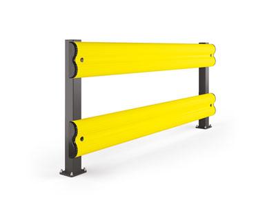 guard rail protezione industriale in pvc
