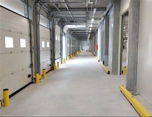 protezioni magazzino installazione metro