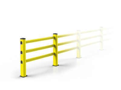 industrial protection guard rail