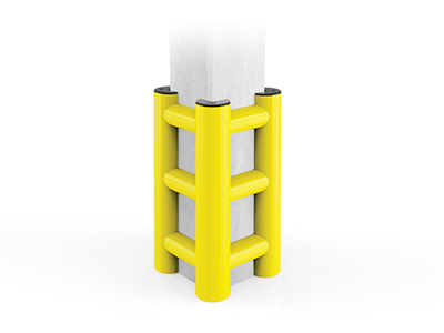 protezione industriale per colonne