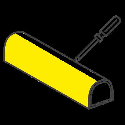 Material antirayadura y anticorrosión