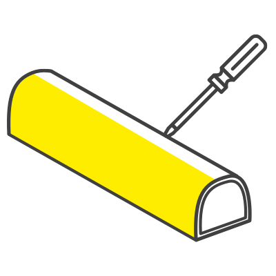 Matériau antiéraflures et anticorrosion