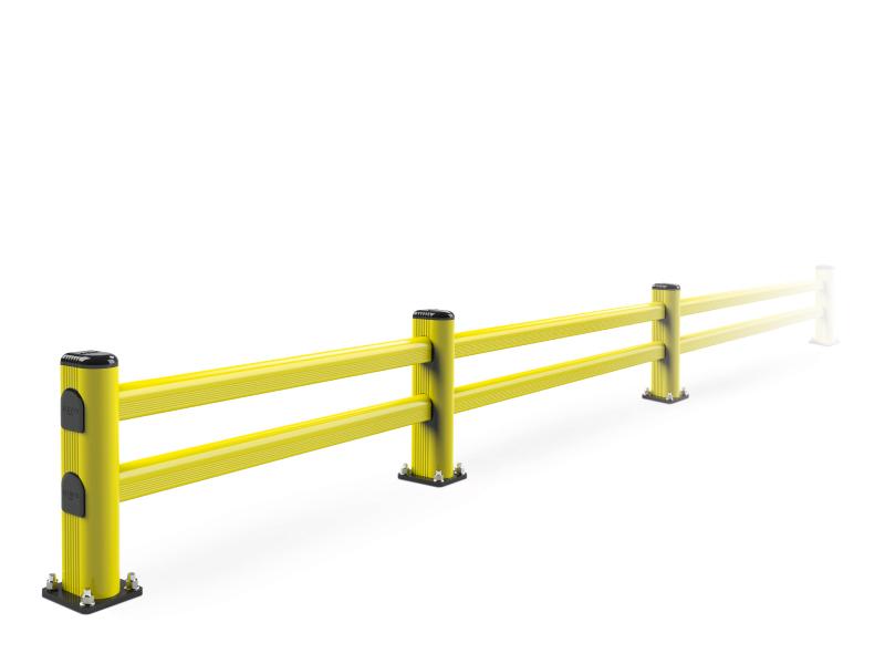Flexibler Regalendschutz leicht