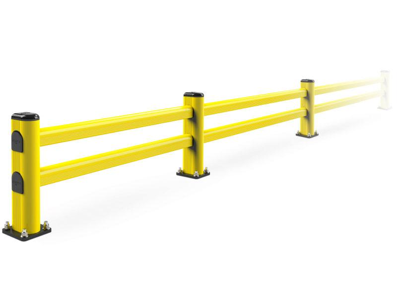 guard rail pvc industriale